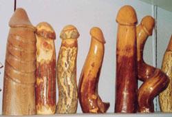 Carved dildos