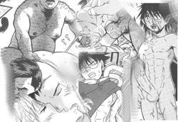 Gay manga collage