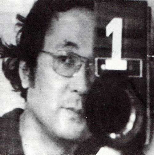 Takahiko Iimura in the 1970's