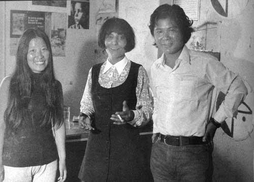 Fusako Shigenobu, Leila Khaled & Koji Wakamatsu, Lebanon, 1971