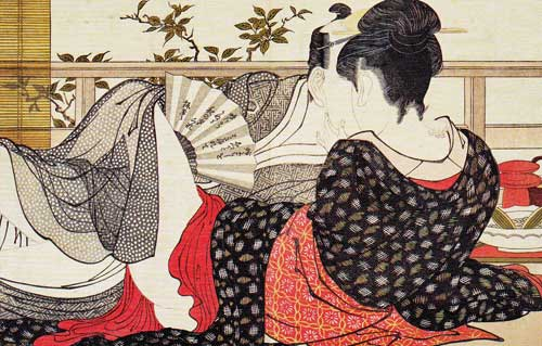 Utamaro Kitagawa: Poem of the Pillow (1788)