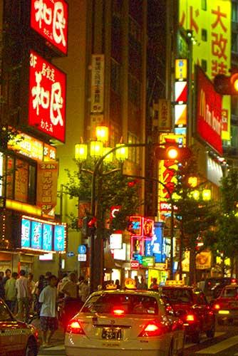 Kabukicho entertainment district, Shinjuku, Tokyo