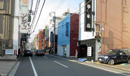 Yoshiwara, unremarkable by day, Taito-ku, Tokyo