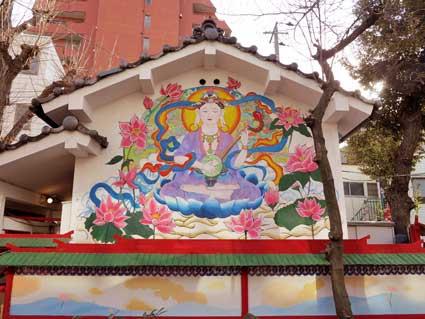 Benzaiten Shrine, Yoshiwara, Tokyo