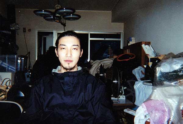 Go Shibata in Osaka, Japan, 1999