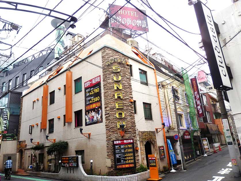 Love Hotel, Dogenzaka, Shibuya, Tokyo.